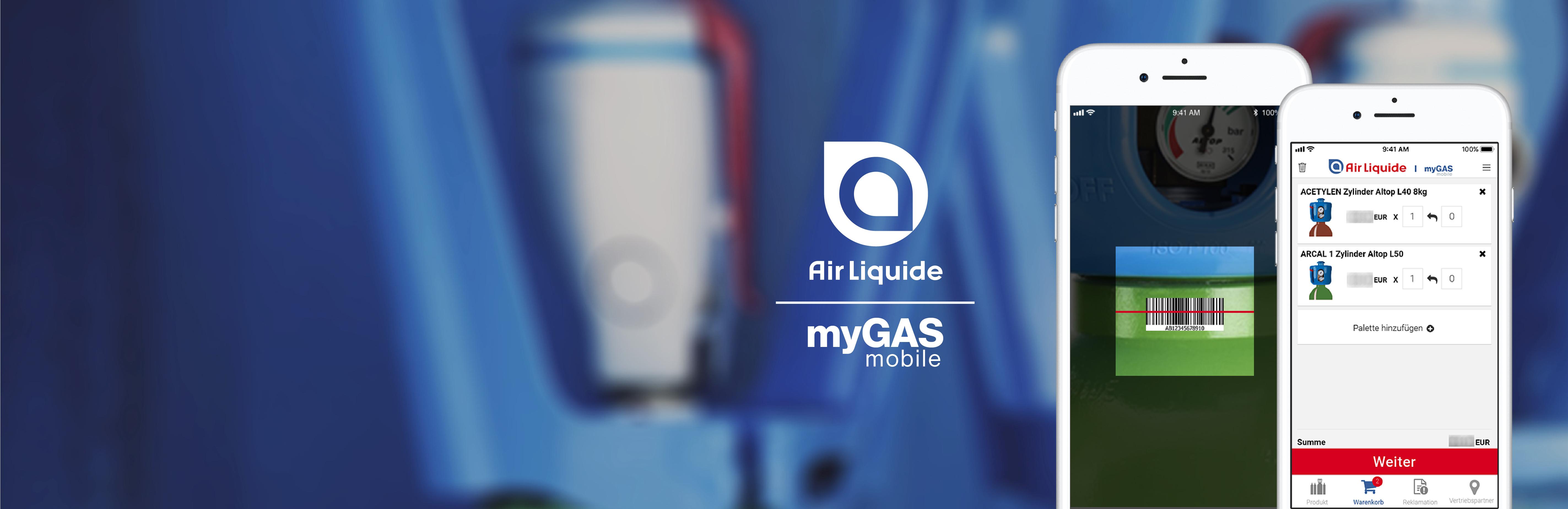 myGAS-App kostenlos herunterladen und installieren